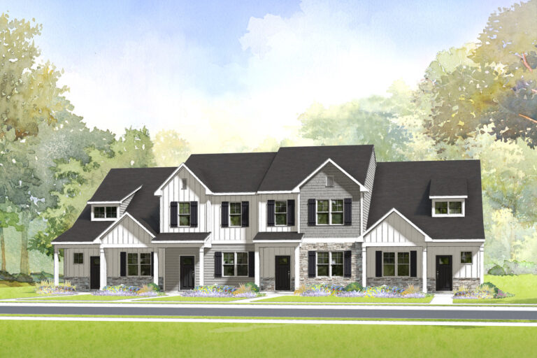 Townhomes without Garage