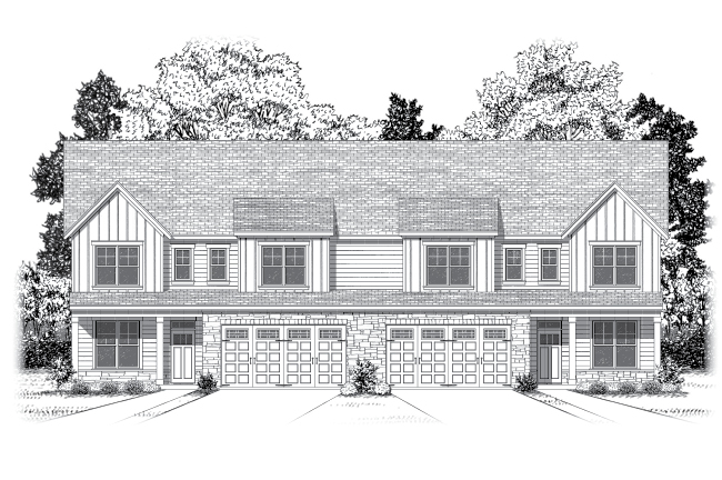 Beautifully crafted carriage homes bring style and space to your life.